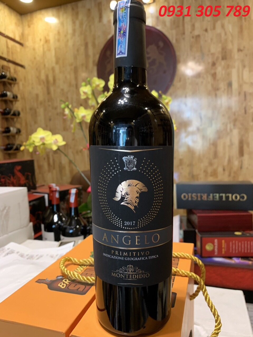 Rượu vang đỏ ý ANGELO Primitivo Montedidio