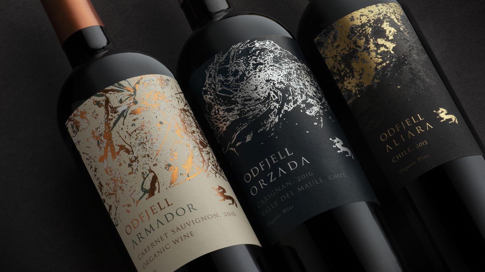 rượu vang đỏ chile ODFJELL ORZADA Cariganan