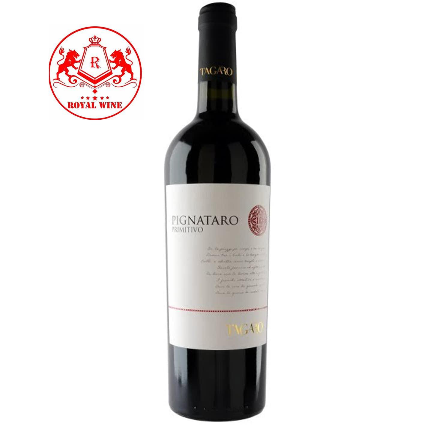 Rượu vang PIGNATARO Primitivo Tagaro