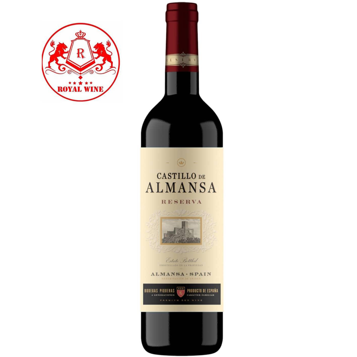 Rượu vang Castillo De ALMANSA Reserva