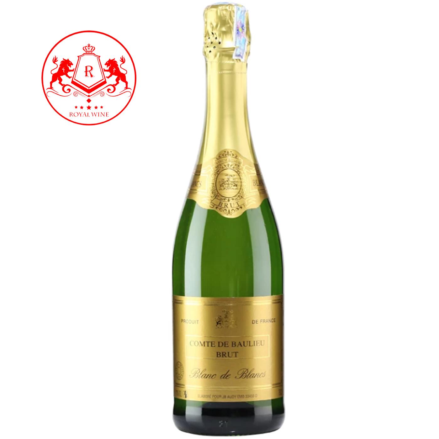 Rượu vang COMTE DE BAULIEU Brut