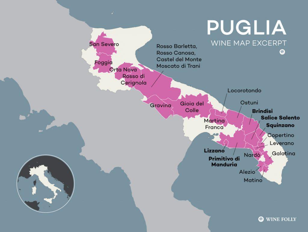 Vùng Puglia - Miền đất có duyên với rượu vang Việt Nam