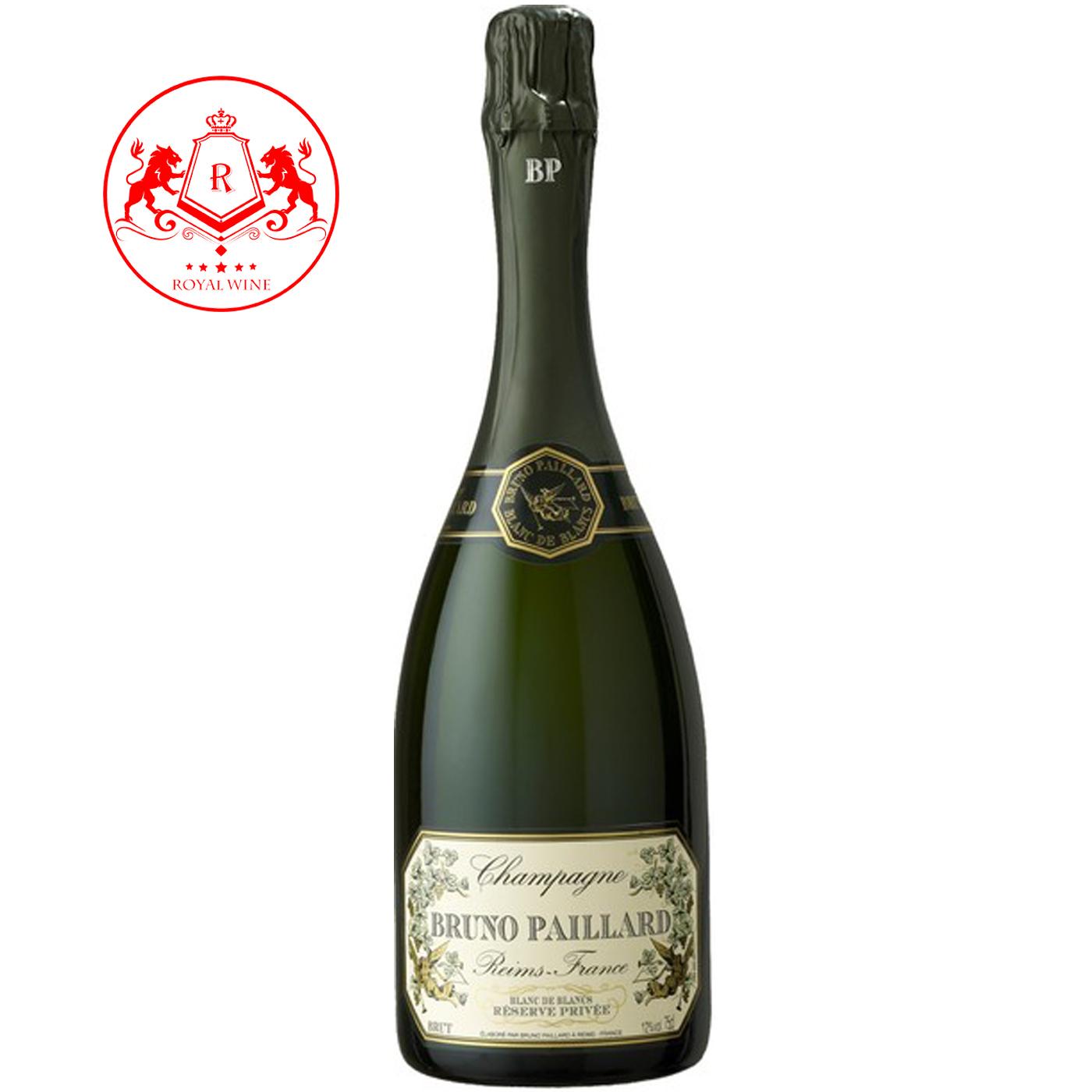 Champagne BRUNO PAILLARD Blanc de Blanc Reserve Privee
