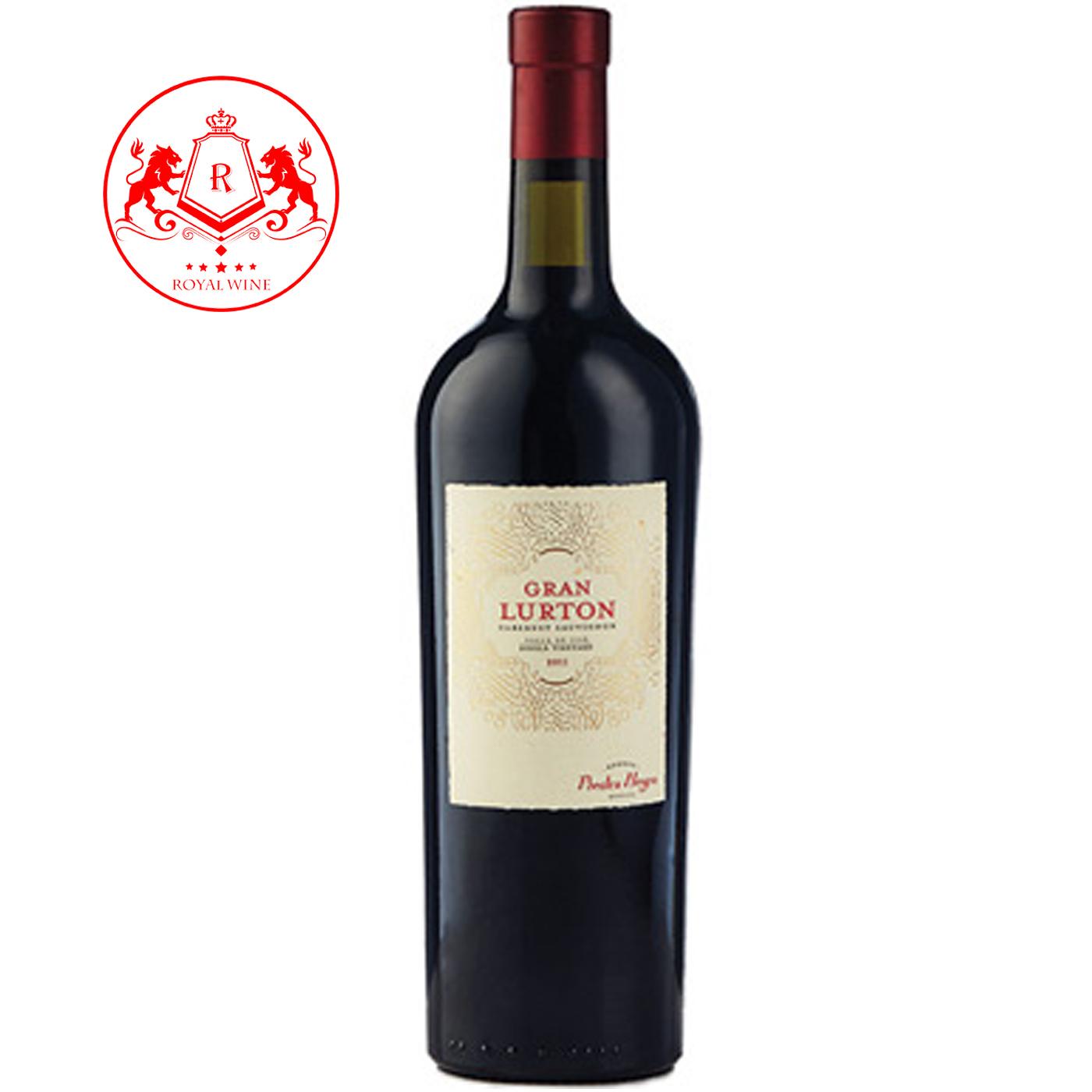 Rượu vang Gran LURTON Cabernet Sauvignon
