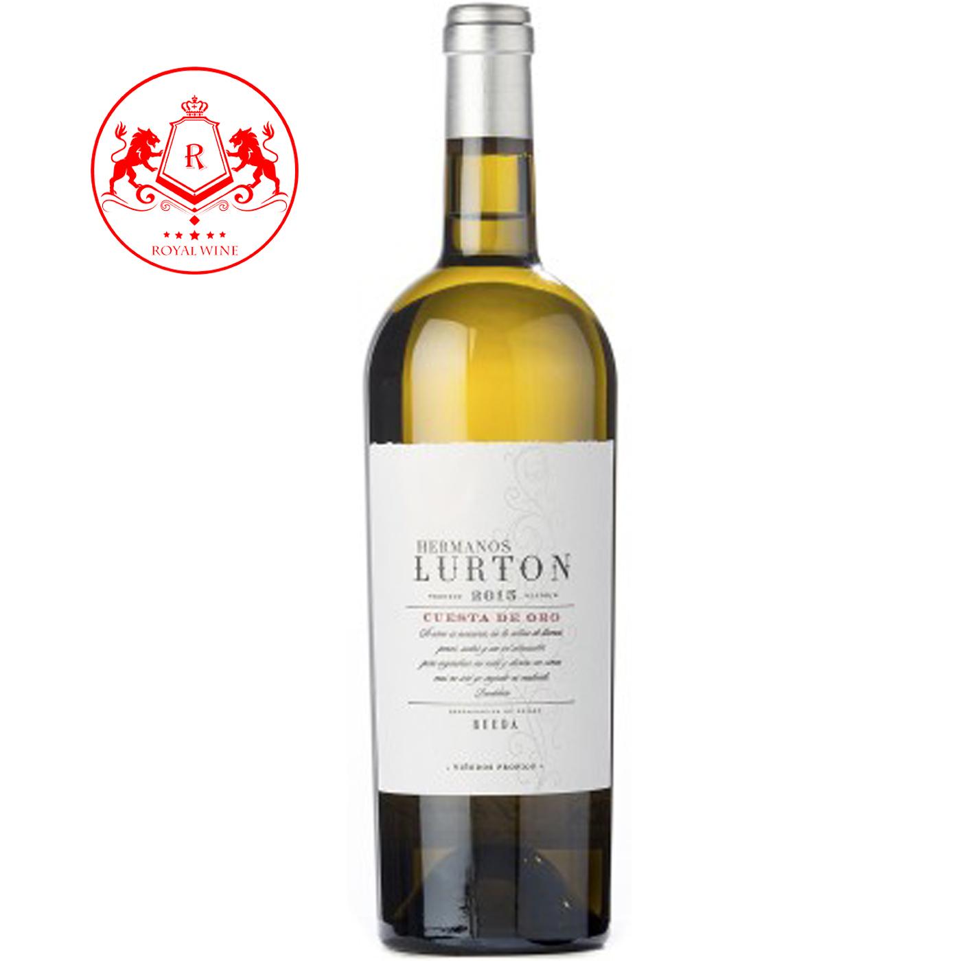 Rượu vang Hermanos LURTON Cuesta De Oro