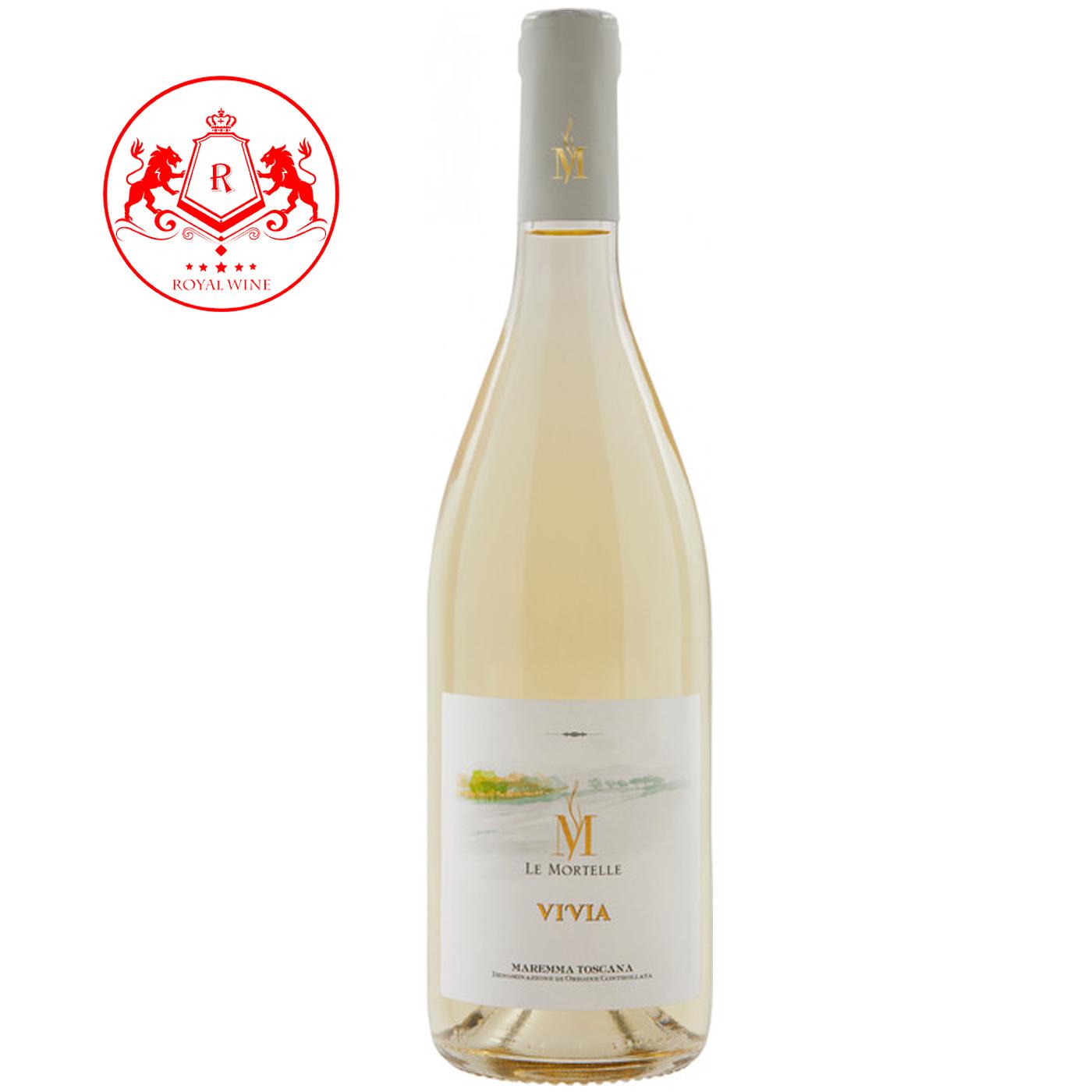 Rượu vang Le Mortelle VIVIA Maremma Toscana