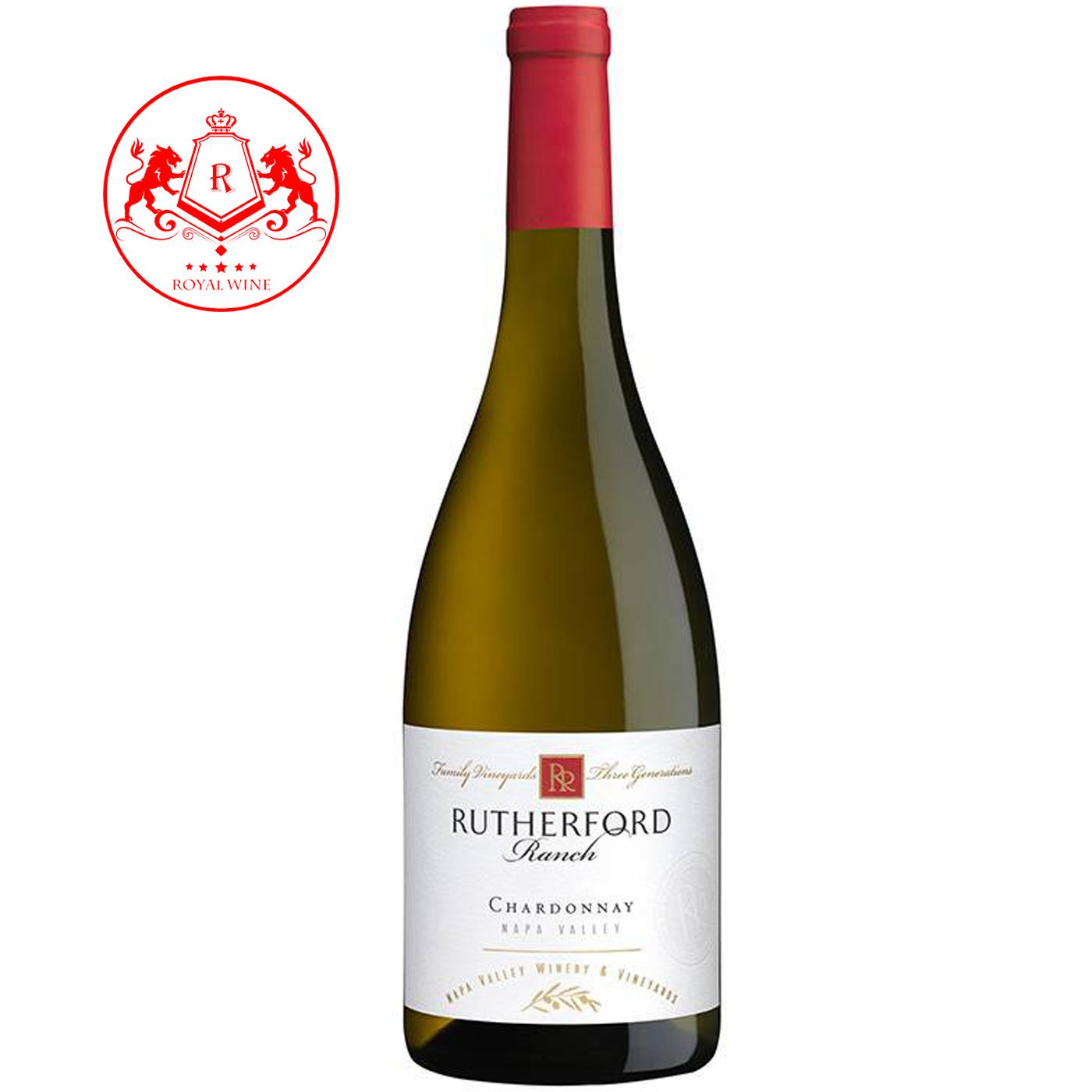 Rượu vang RUTHERFORD Ranch Chardonnay