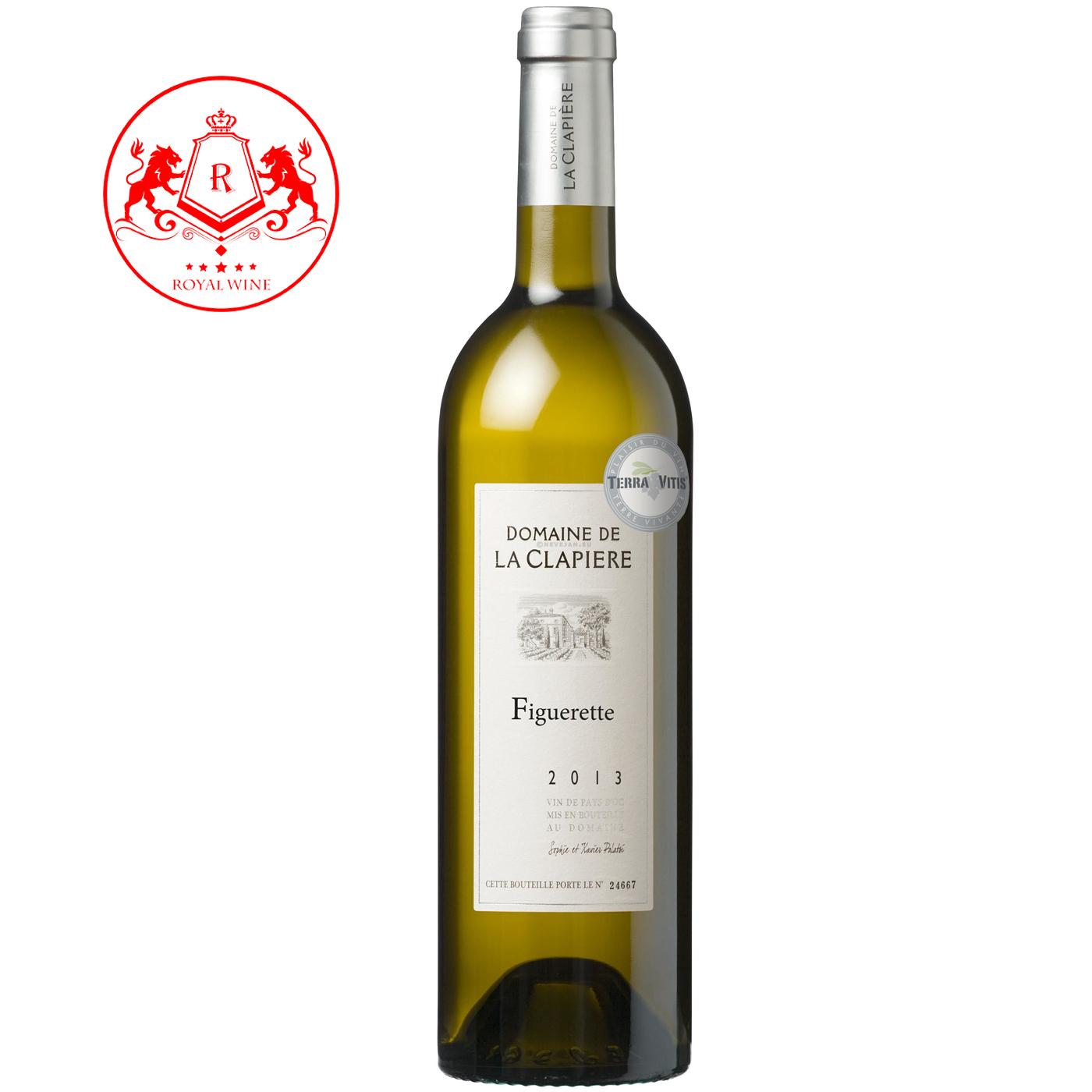 Rượu vang Domaine de LA CLAPIERE Figuerette