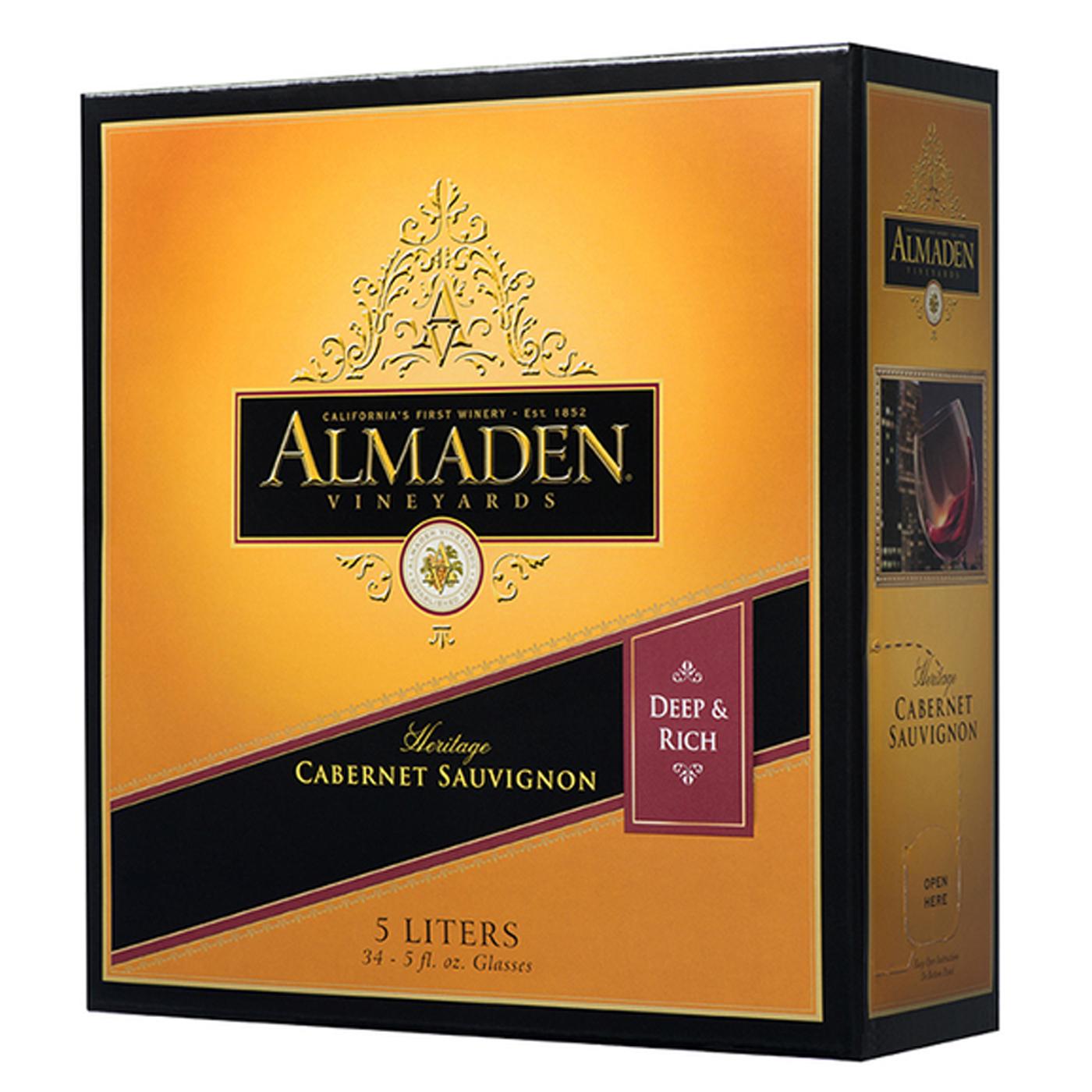Vang bịch ALMADEN Cabernet Sauvignon