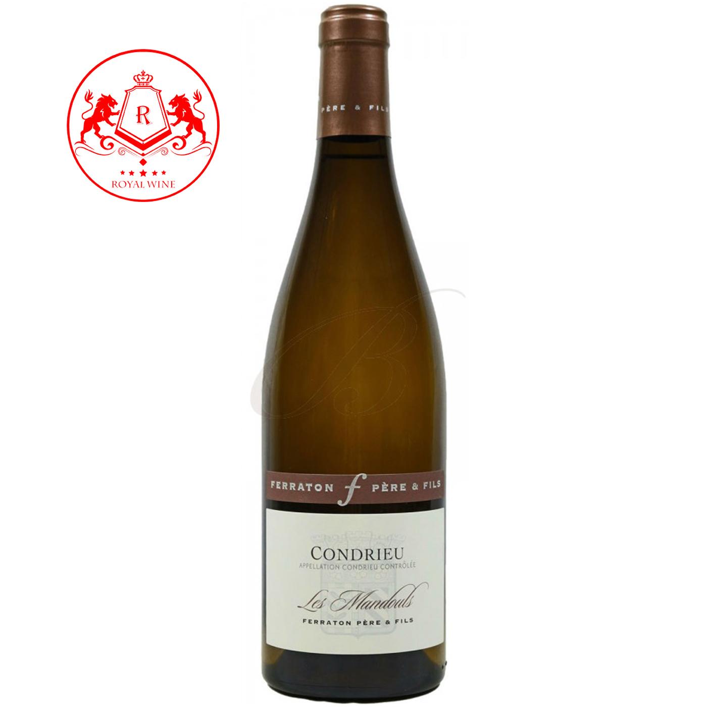 Rượu vang CONDRIEU Les Mandouls