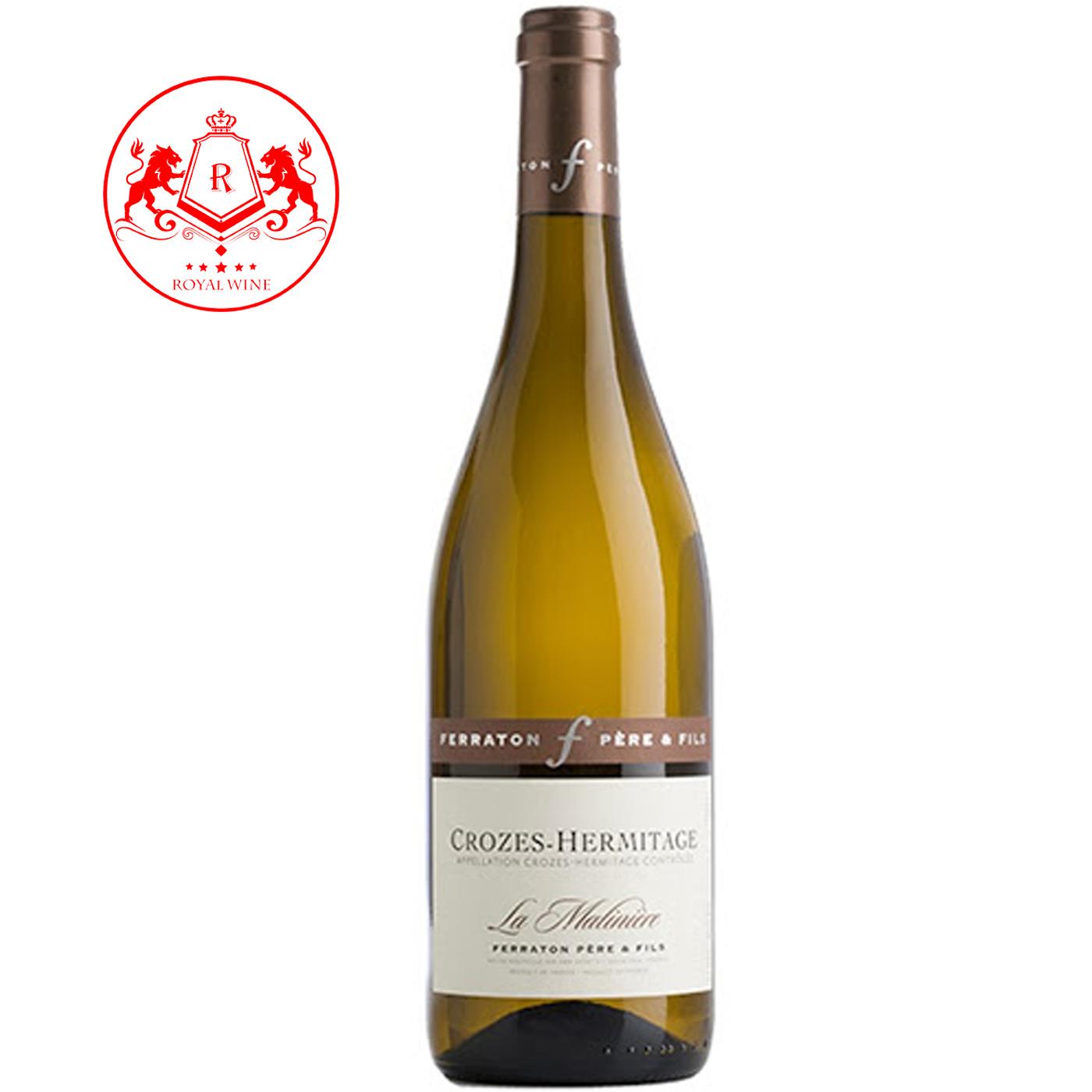 Rượu vang CROZES-HERMITAGE La Matiniere