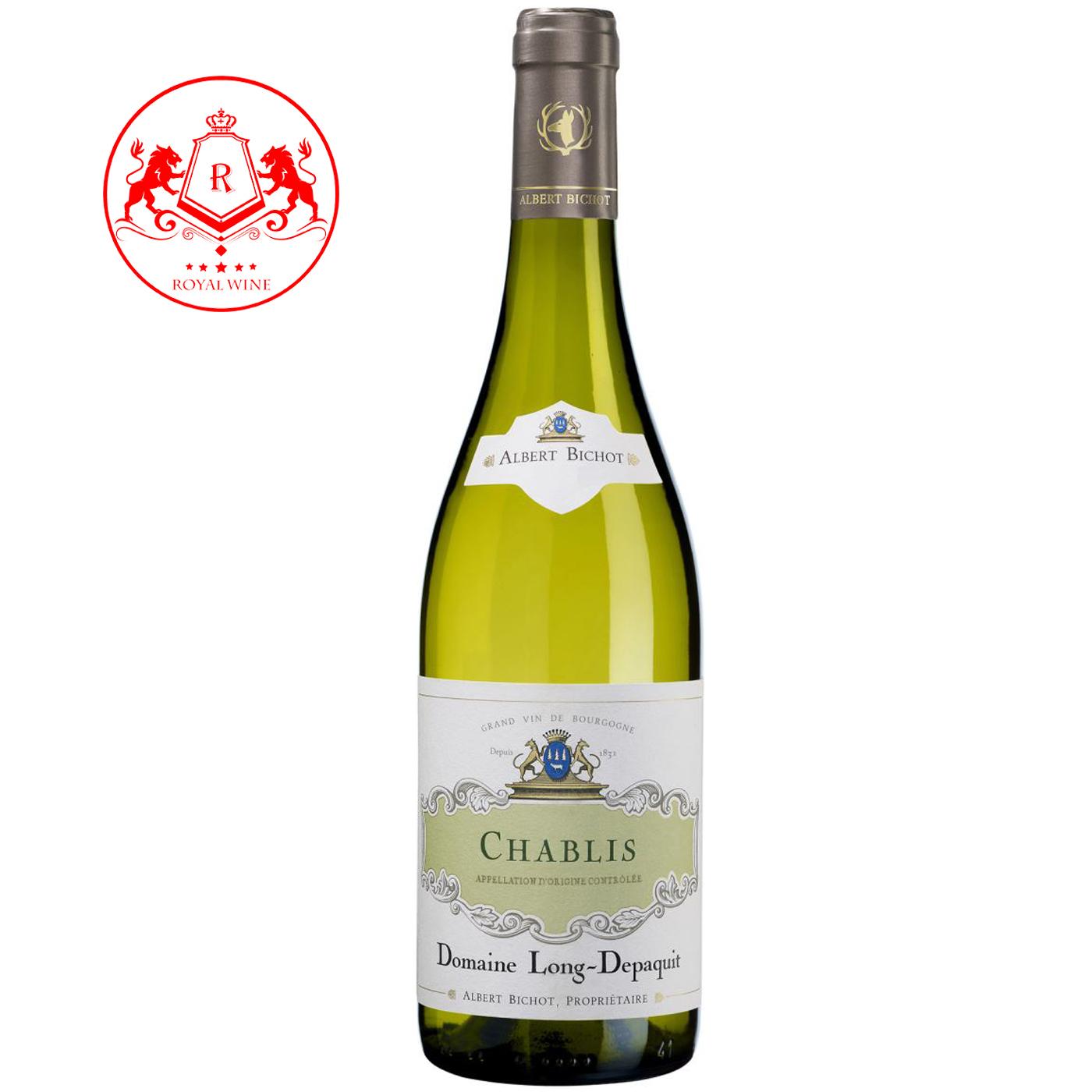Rượu vang Chablis Domaine Long Depaquit