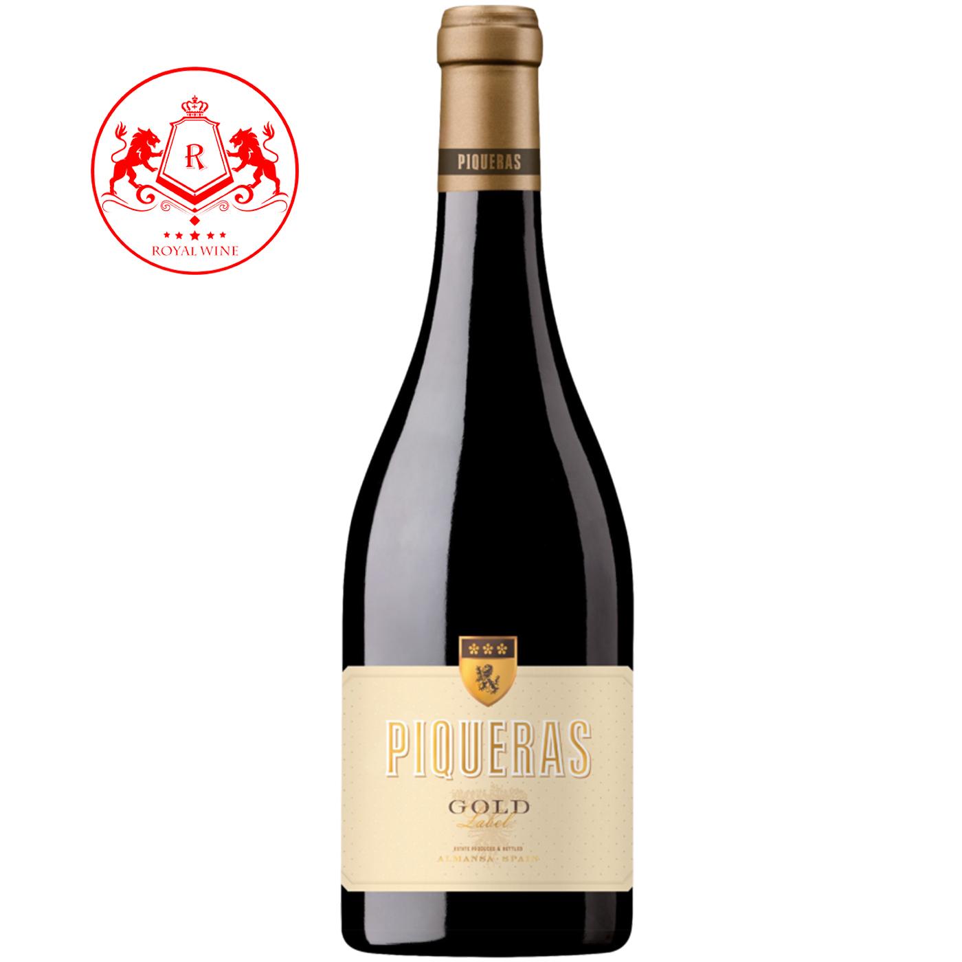 Rượu vang PIQUERAS Gold Lable