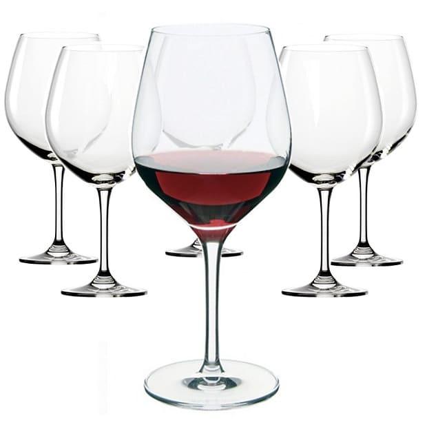 Bộ Ly uống rượu vang pha lê