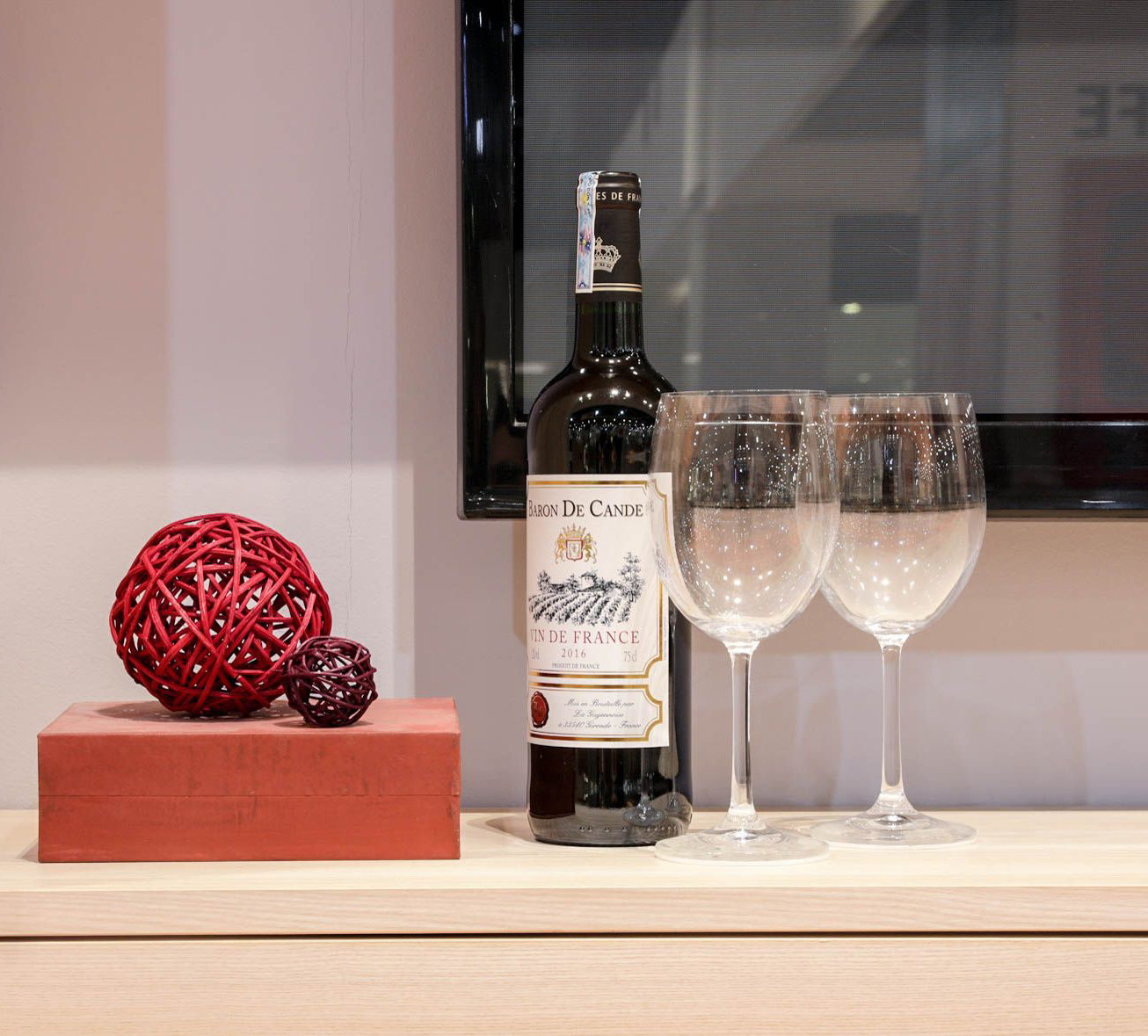 Rượu vang BARON DE CANDE Vin De France