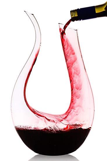 Decanter rượu vang cổ ngỗng