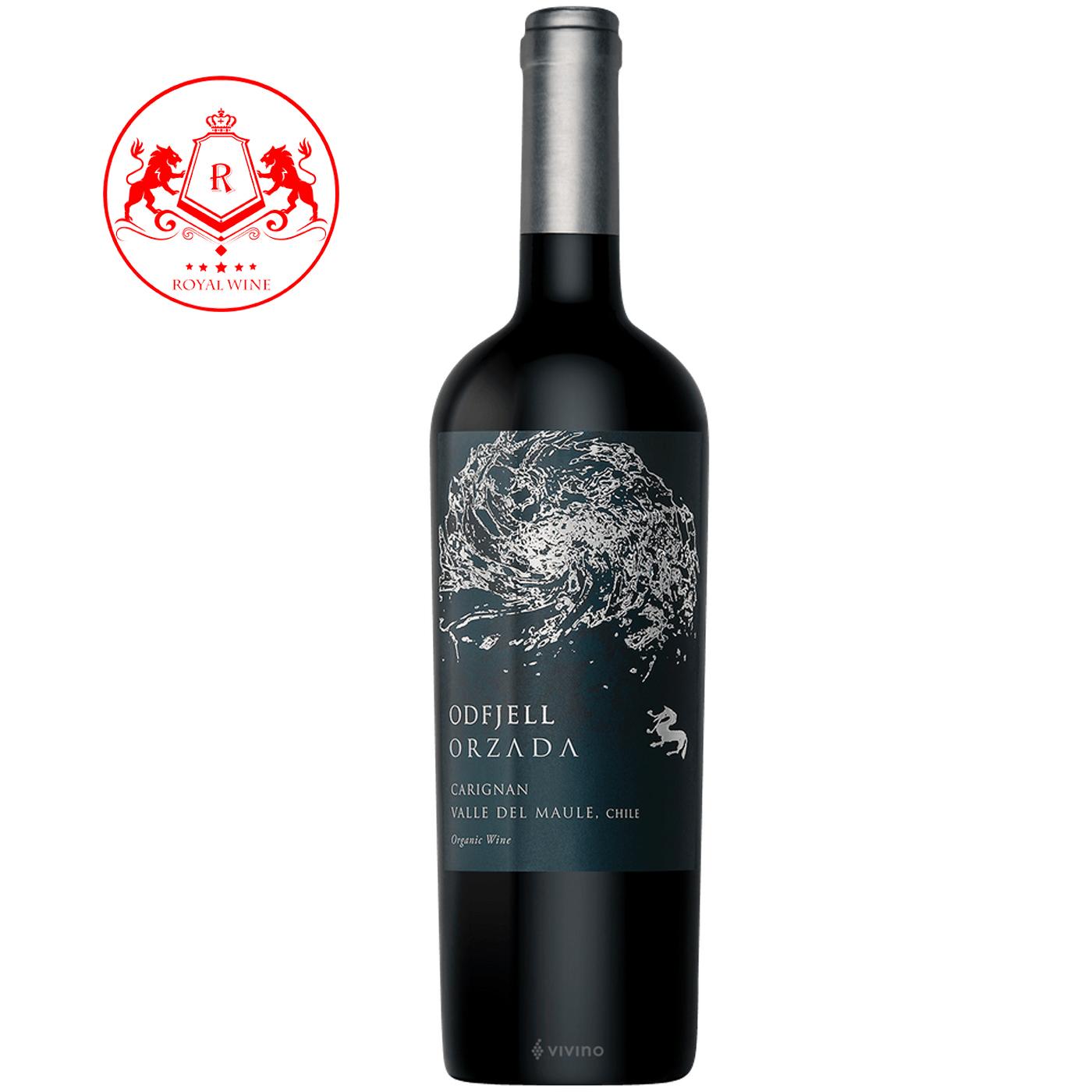 Rượu vang ODFJELL ORZADA Cariganan