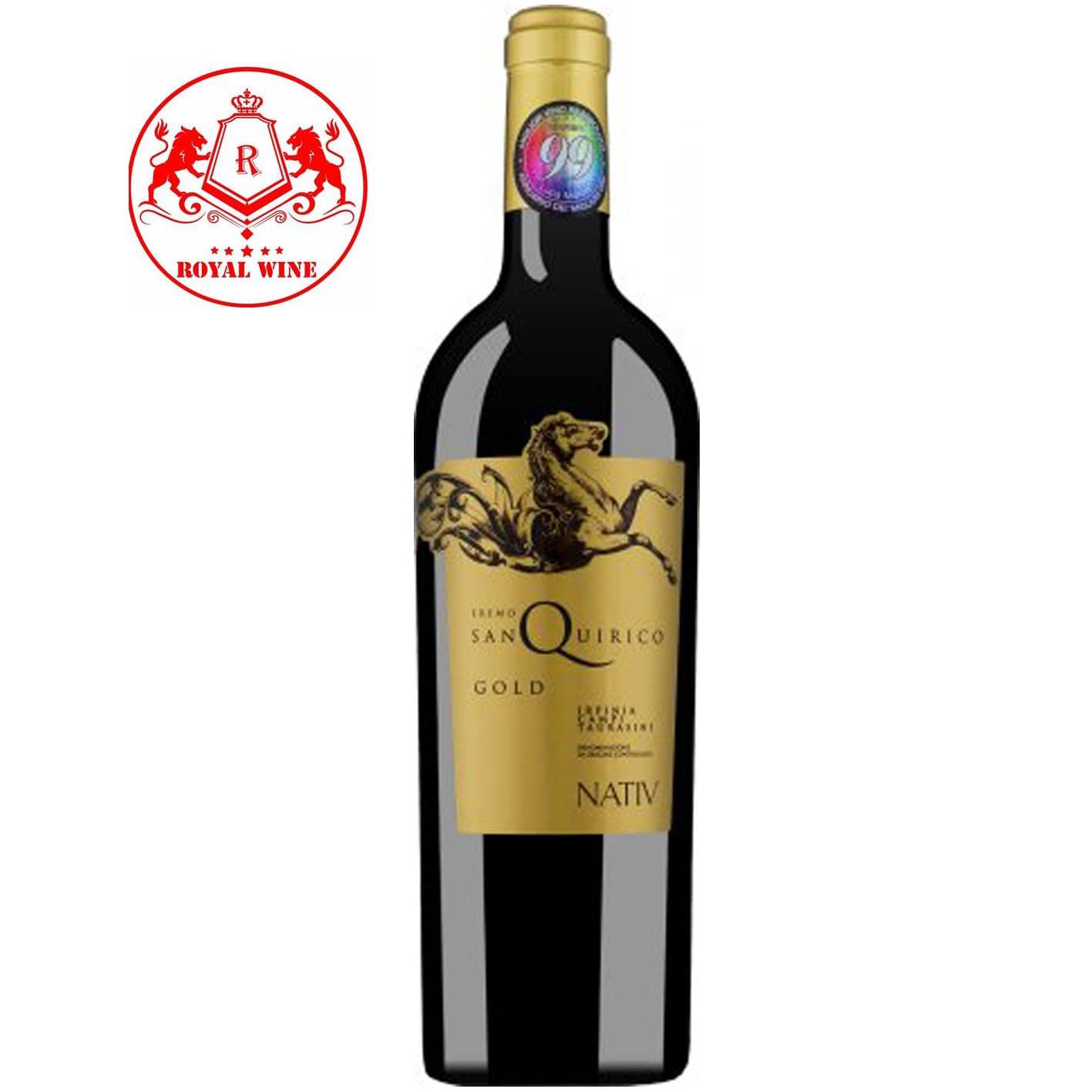 Rượu vang EREMO SAN QUIRICO GOLD