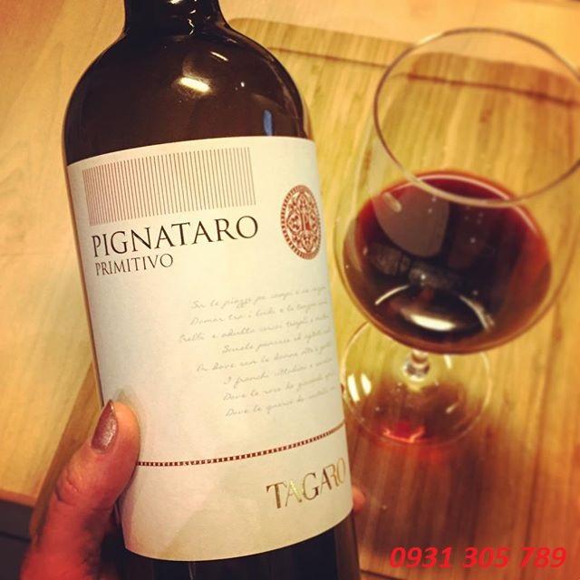 Rượu vang Ý PIGNATARO Primitivo Tagaro