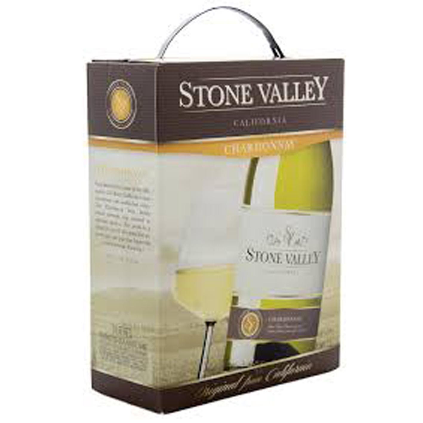 STONE VALLEY Chardonnay 3l