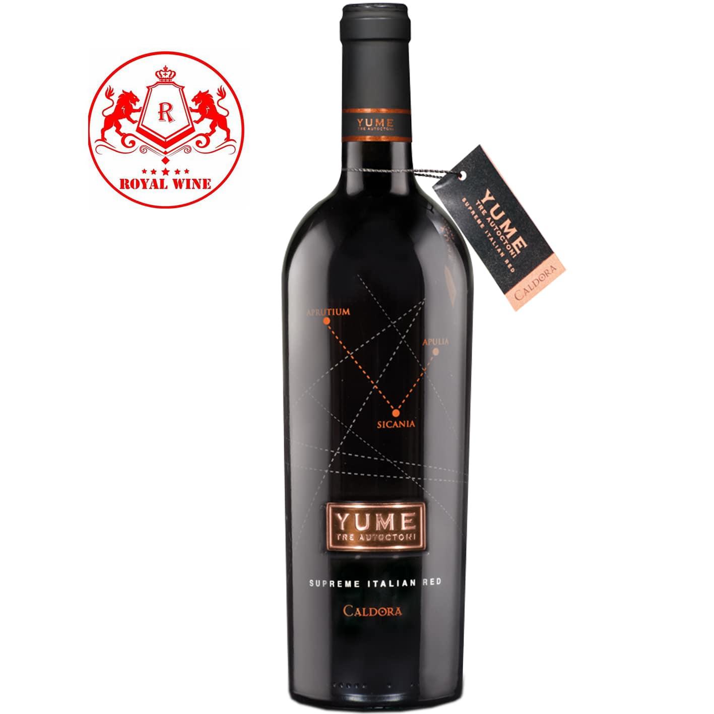 Rượu vang YUME Caldora
