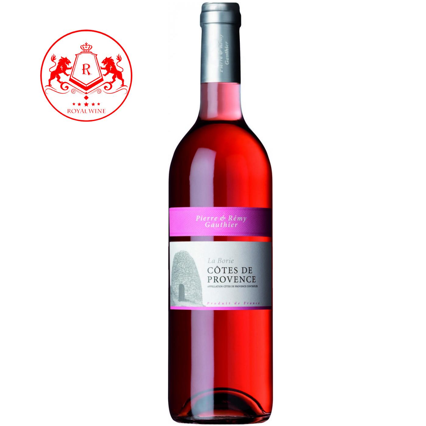 Rượu vang La Borie COTE DE PROVENCE Rose