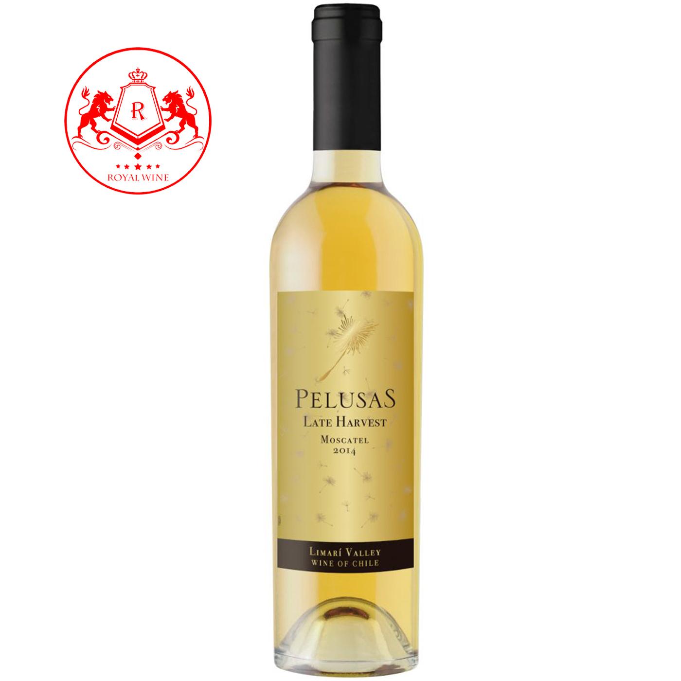 Rượu vang PELUSAS Late Harvest Moscato