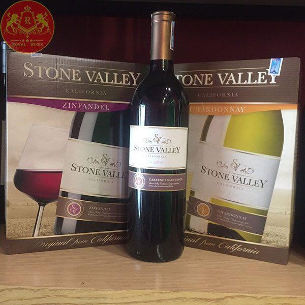 Vang bịch STONE VALLEY Chardonnay 3l