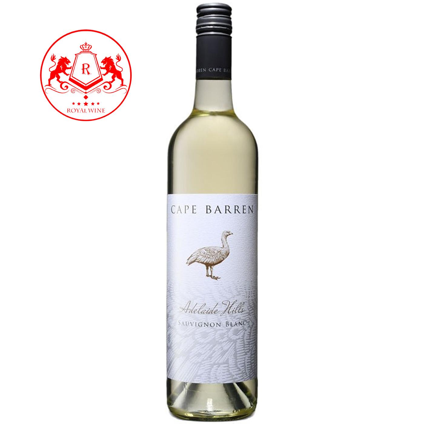 Rượu vang CAPE BARREN Adelaide Hills Sauvignon Blanc