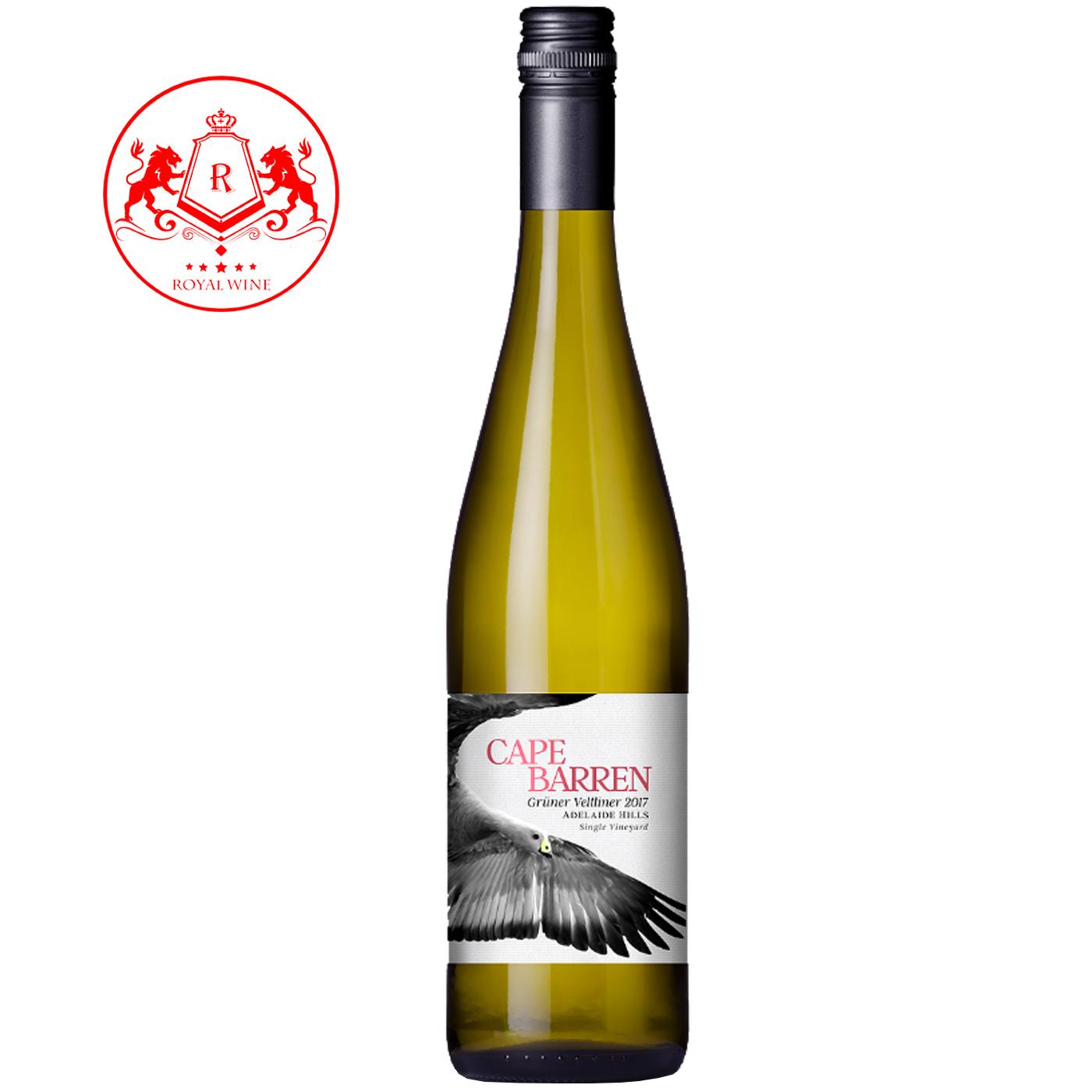 Rượu vang CAPE BARREN Gruner Veltliner