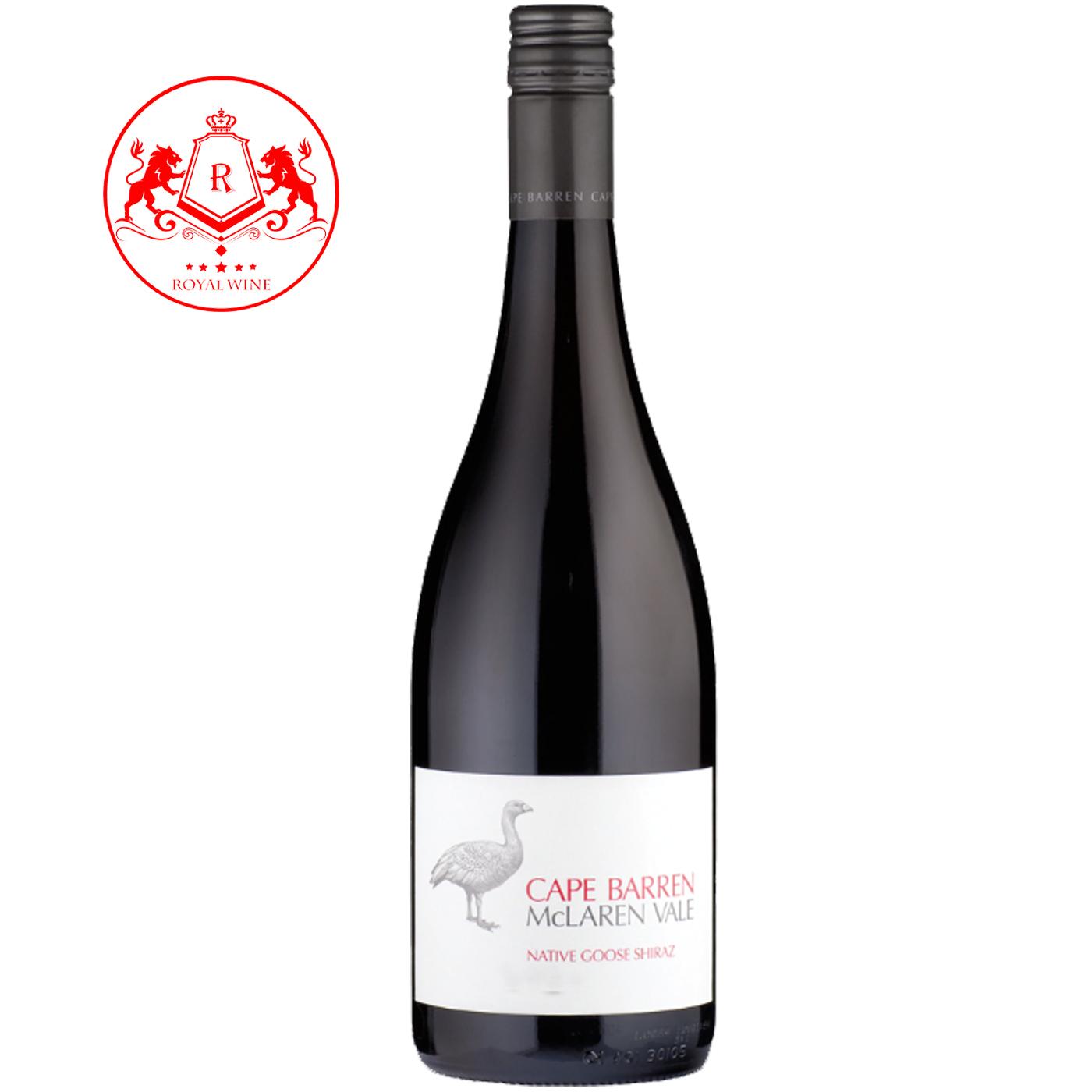 Rượu vang CAPE BARREN McLaren Vale Native Goose Shiraz