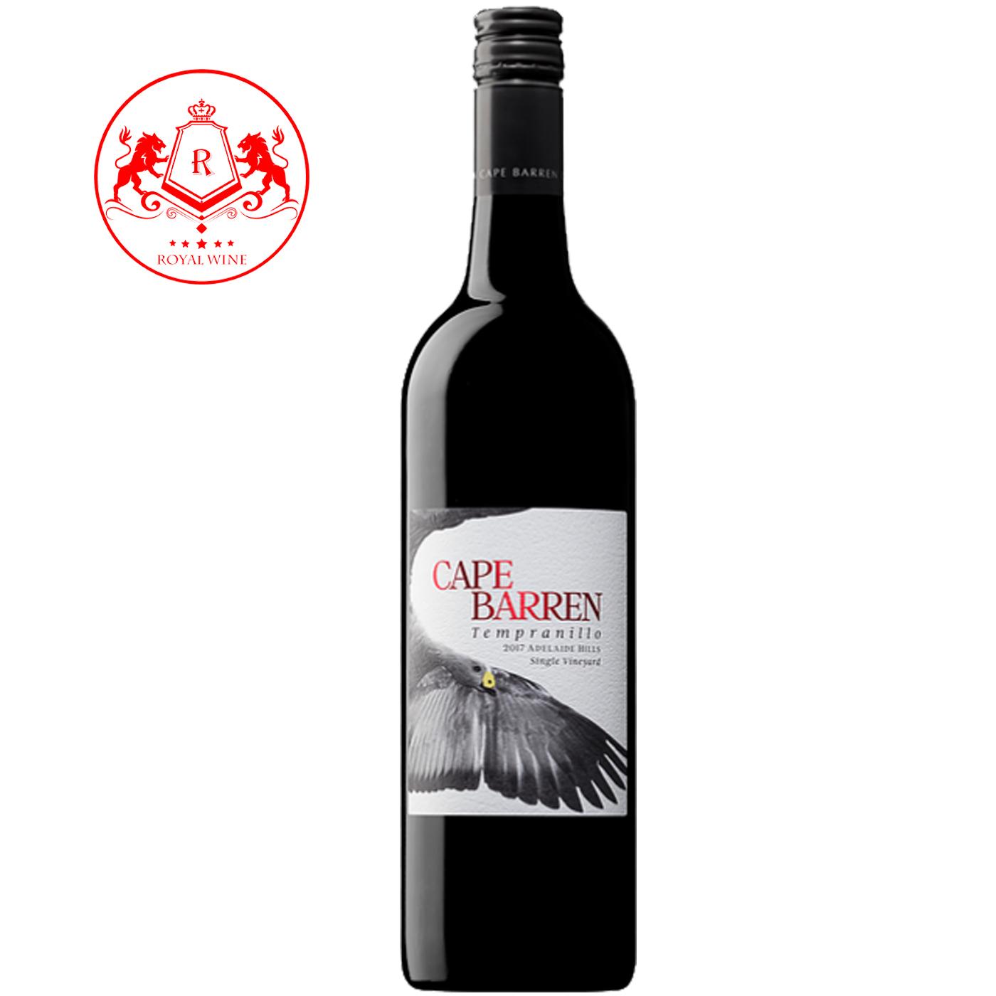 Rượu vang CAPE BARREN Tempranillo