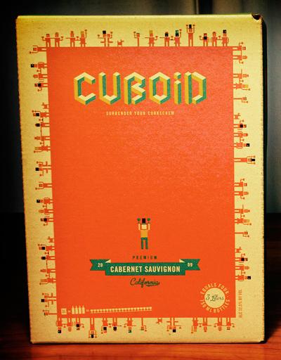 Vang bịch CUBOID California Cabernet Sauvignon