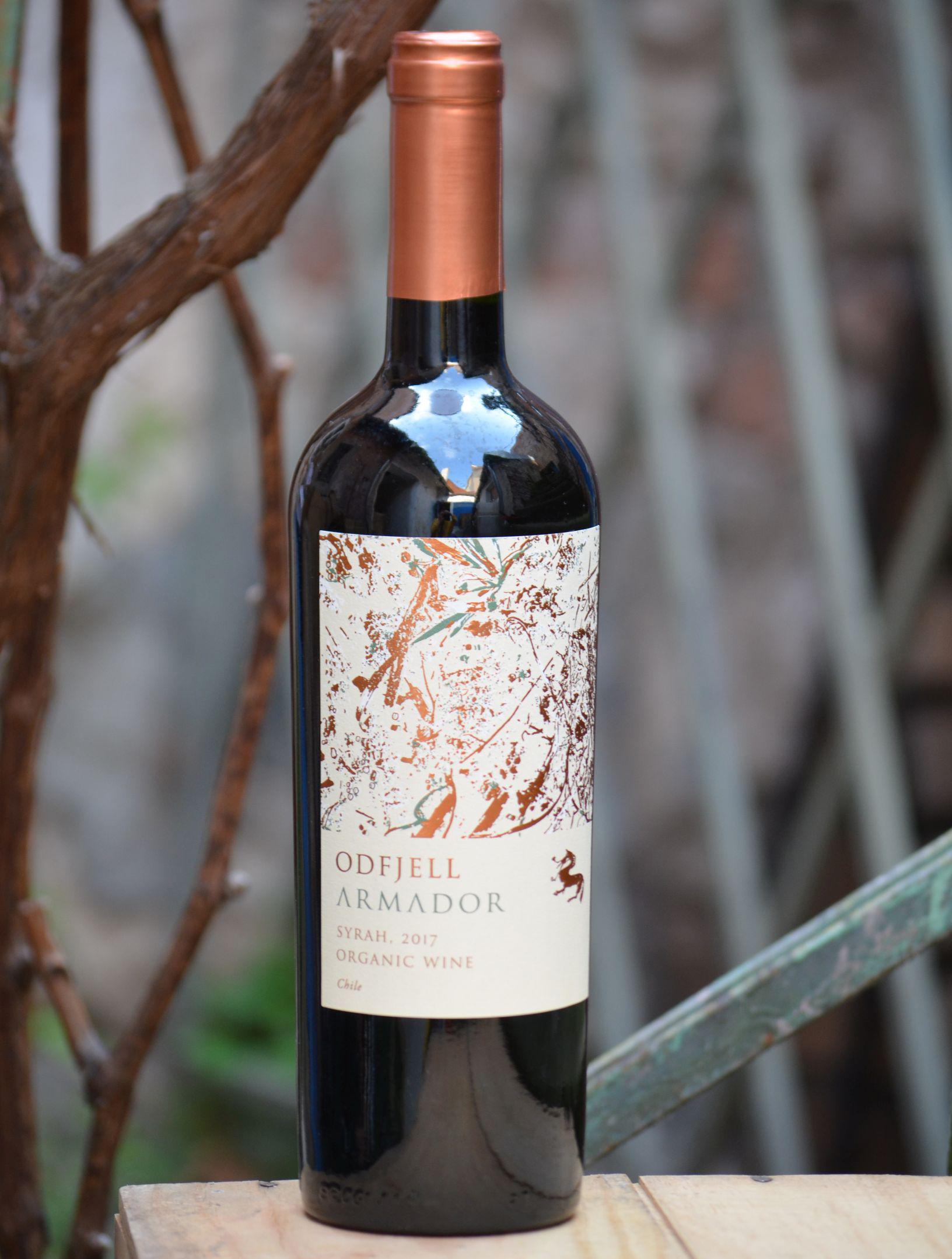 Rượu vang Odfjell ARMADOR Syrah