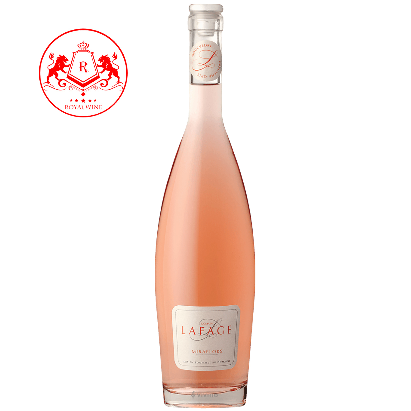 Rượu vang LAFAGE Miraflors Rose