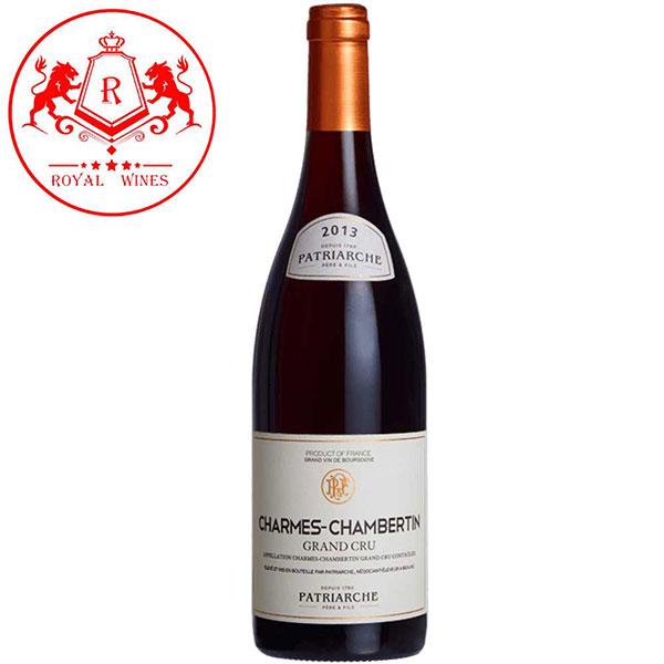 Rượu Vang Patriarche Charmes Chambertin